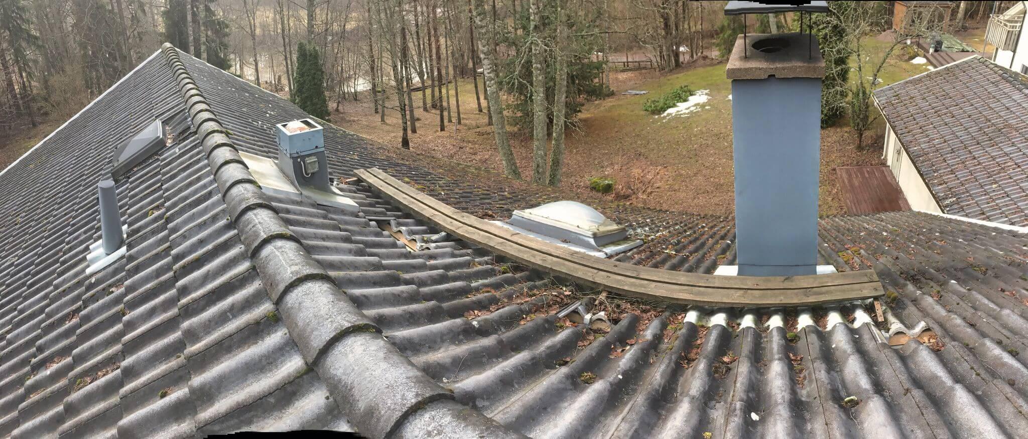 Kattoturvatuotteet - ennen asennusta